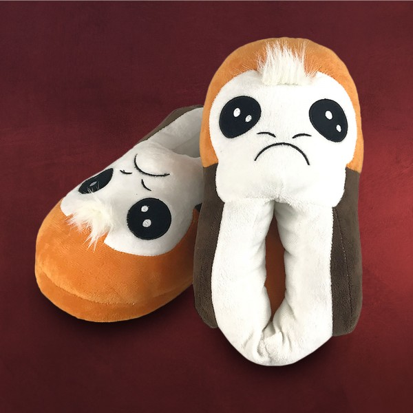 Star Wars - Porgs Plüsch Pantoffeln Damen