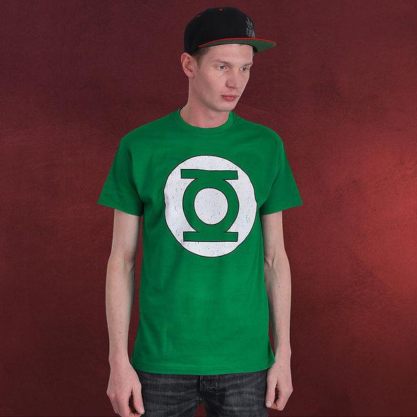 Green Lantern - Logo T-Shirt grün
