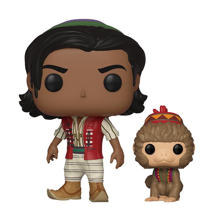 Aladdin mit Abu Funko Pop Figur