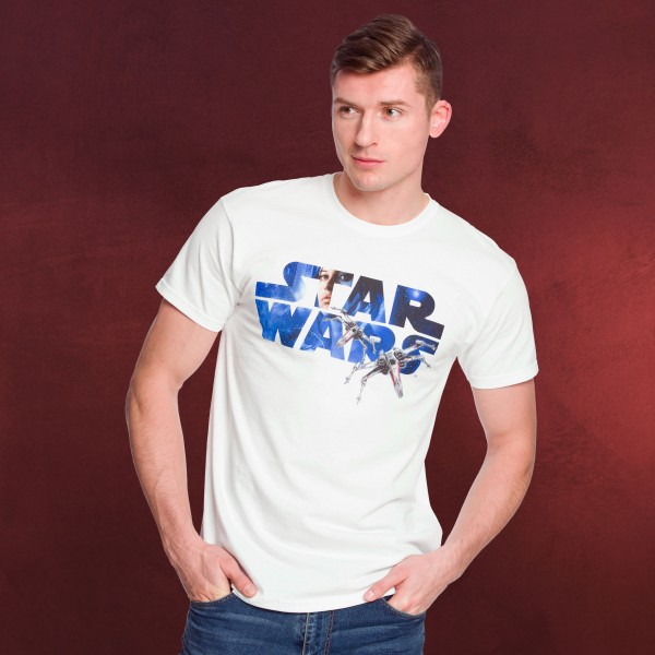 Star Wars - X-Wing Logo T-Shirt Rogue One weiß