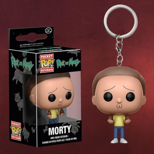 Rick and Morty - Morty Funko Schlüsselanhänger