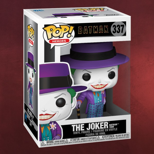 Batman 1989 - Joker mit Hut Funko Pop Figur