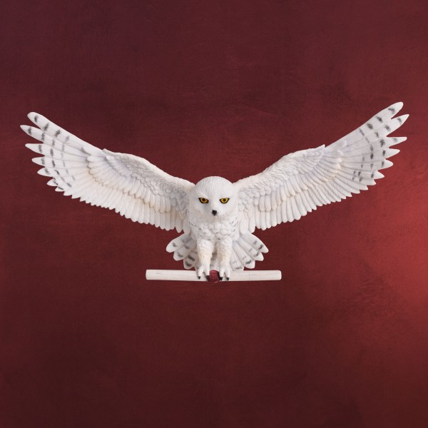 Harry Potter - Hedwig Wand Skulptur