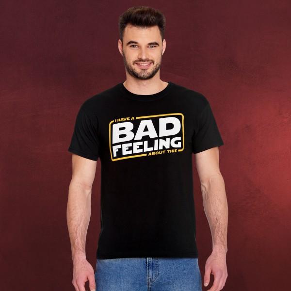 Bad Feeling T-Shirt für Star Wars Fans schwarz
