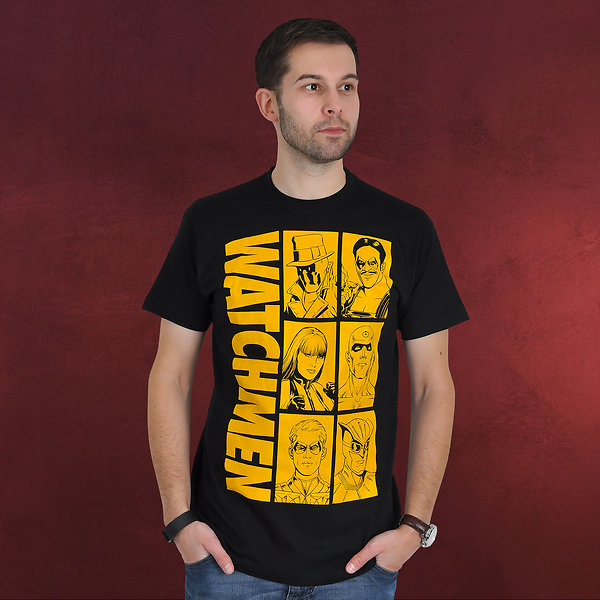 Watchmen - Characters T-Shirt schwarz