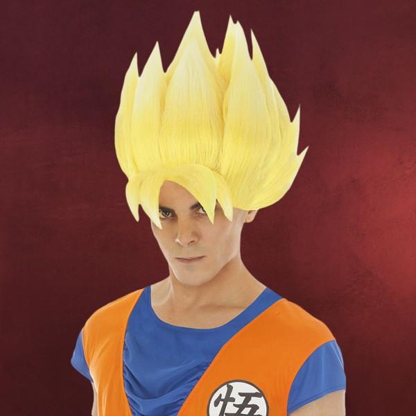 Dragon Ball - Goku Super Sayajin Perücke gelb