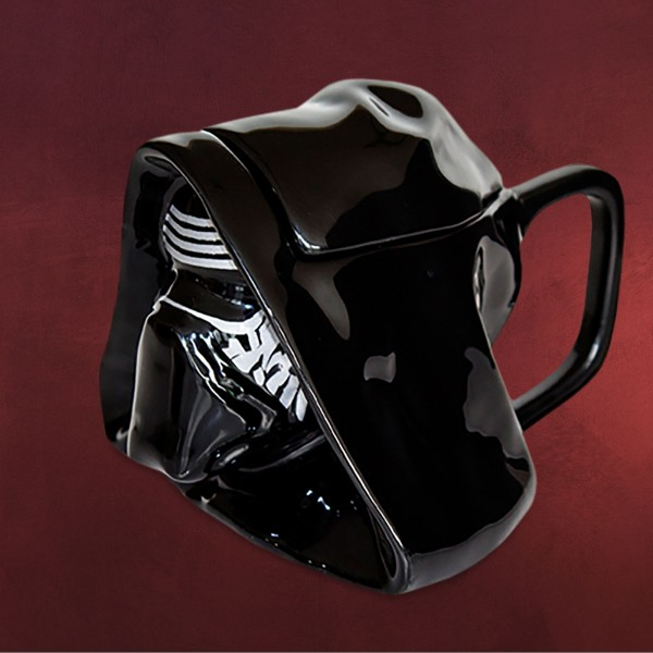 Star Wars - Kylo Ren 3D Tasse mit Deckel
