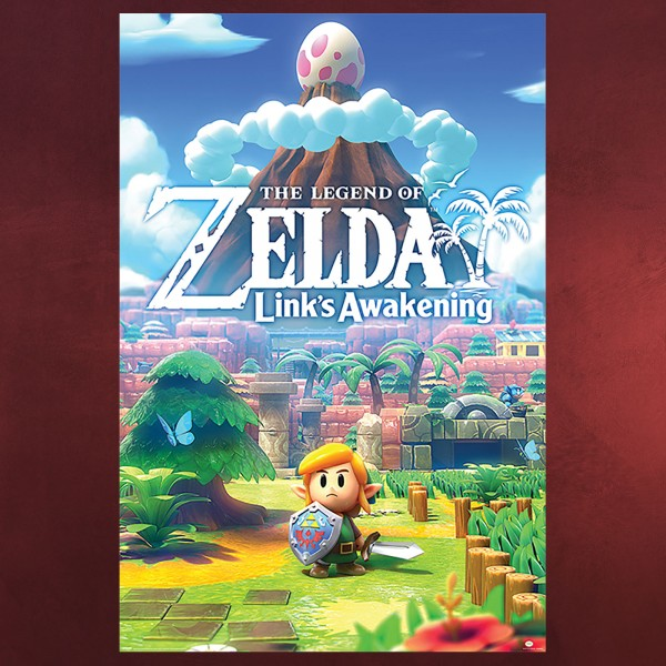 Zelda - Links Awakening Maxi Poster