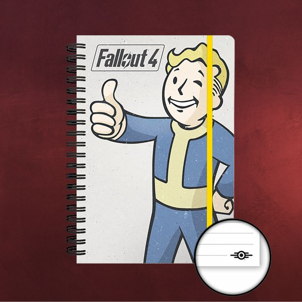 Fallout 4 - Vault Boy Notizbuch A5