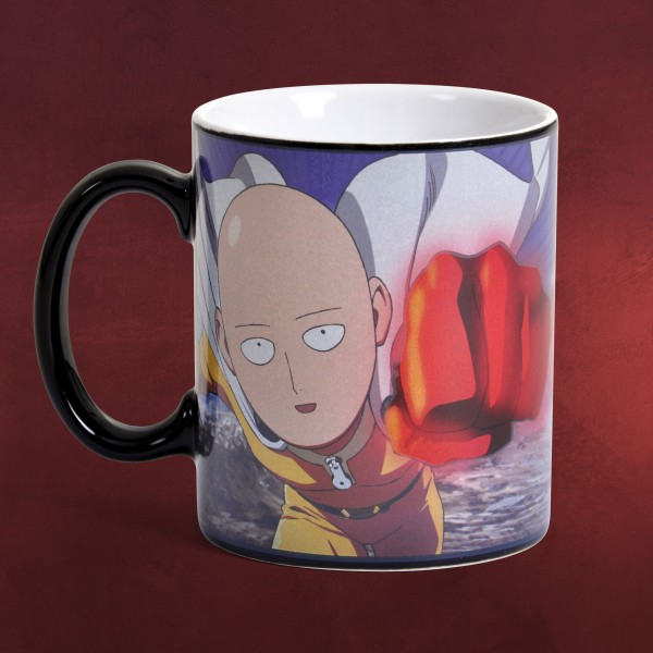 One Punch Man - Saitama Thermoeffekt Tasse