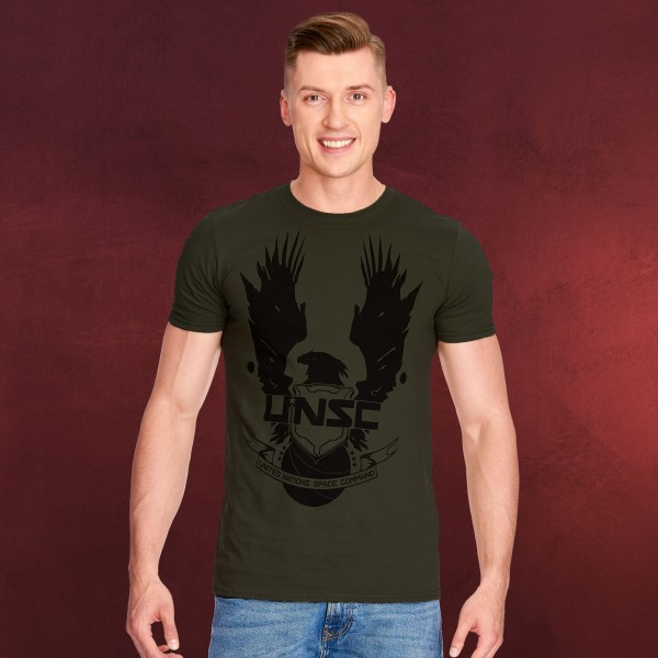 Halo - UNSC T-Shirt oliv
