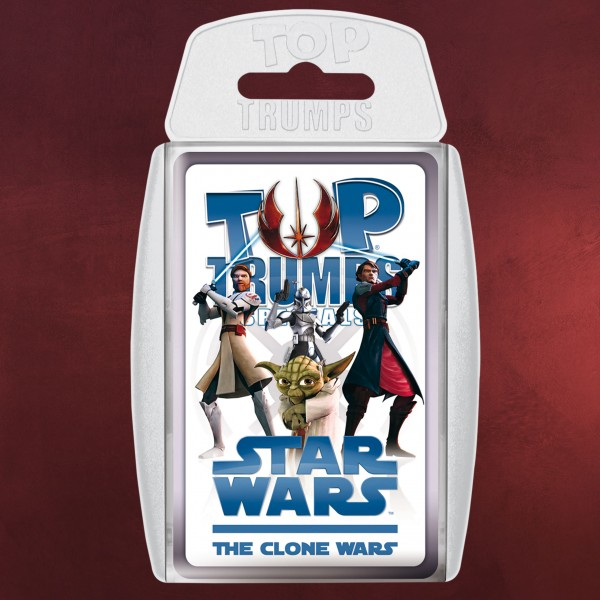 Star Wars - The Clone Wars Top Trumps Spielkarten