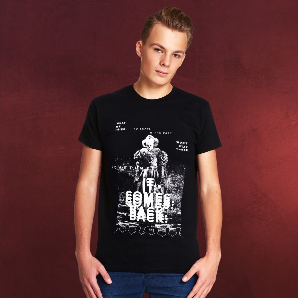 Stephen Kings ES - IT Comes Back T-Shirt schwarz