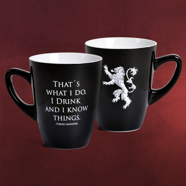 Game of Thrones - Drink And Know Noble Words Tasse