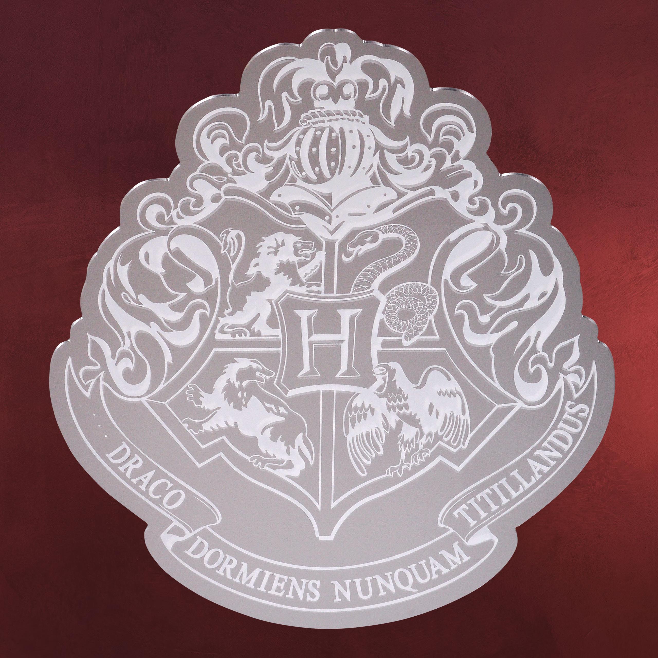 harry potter hogwarts wappen spiegel elbenwald. Black Bedroom Furniture Sets. Home Design Ideas