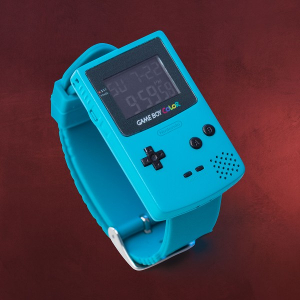 Nintendo - Game Boy Color Armbanduhr mit Weckfunktion