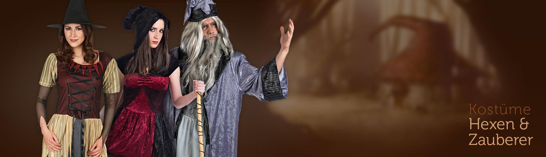 Hexen & Zauberer Kostüme