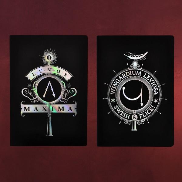 Harry Potter - Zauberspruch Notizbücher A5 2er Set