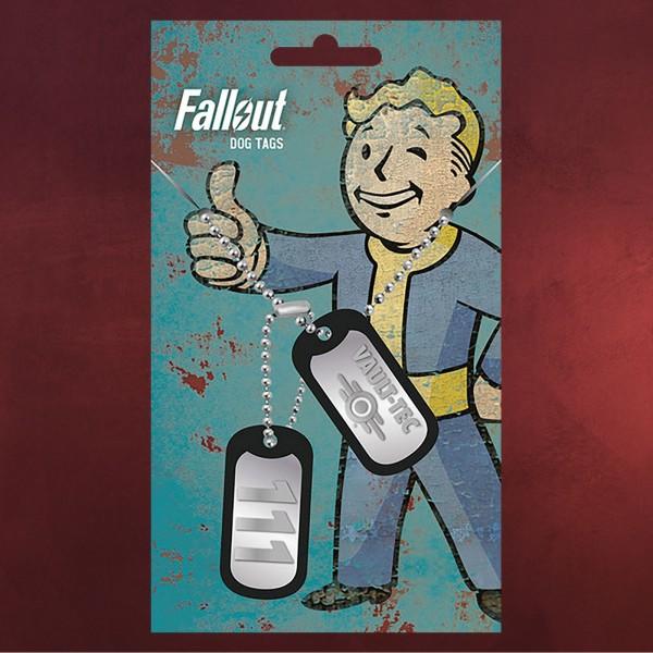 Fallout - Vault Tec Dog-Tag Kette