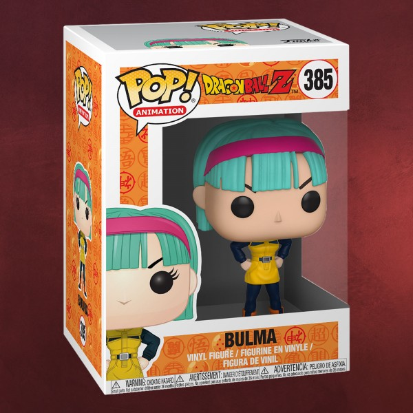 Dragon Ball Z - Bulma Funko Pop Figur