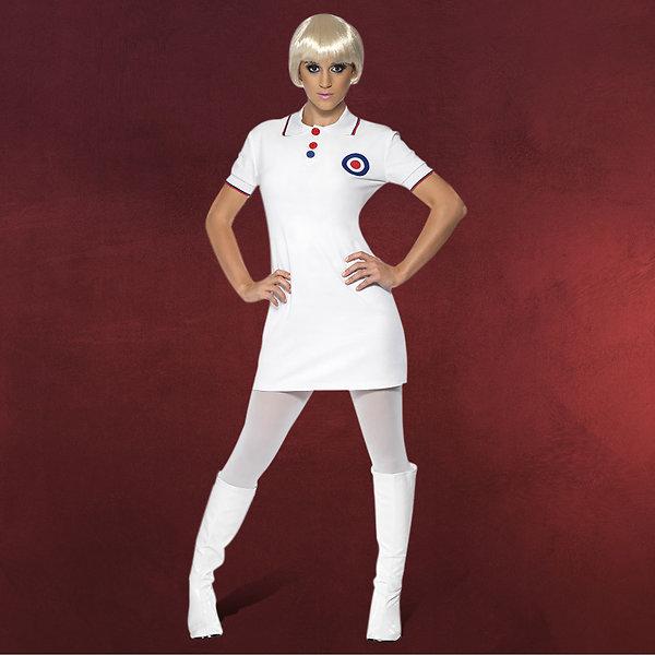 Sixties Mod Minikleid - Kostüm Damen