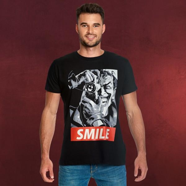 Batman - Killing Joke Smile T-Shirt schwarz