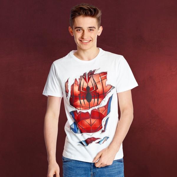 Spider-Man - Suit T-Shirt weiß