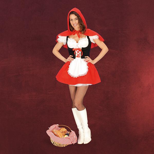 Sexy Rotkäppchen - Damenkostüm
