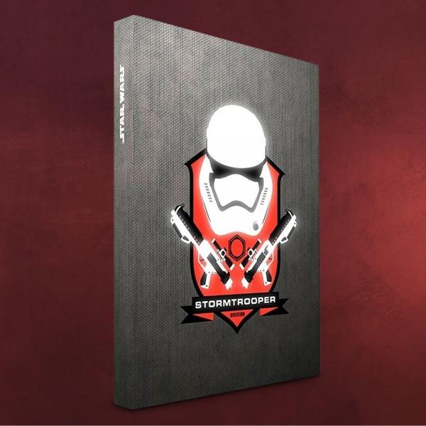Star Wars - Stormtrooper Notizbuch mit Leuchtfunktion