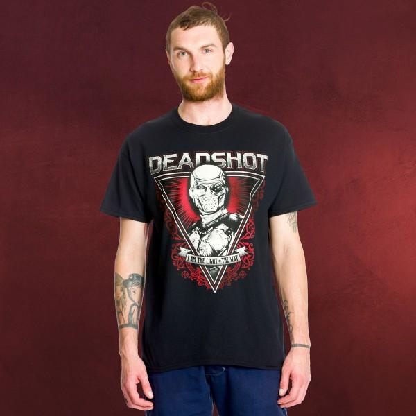 Suicide Squad - Deadshot the Light T-Shirt schwarz
