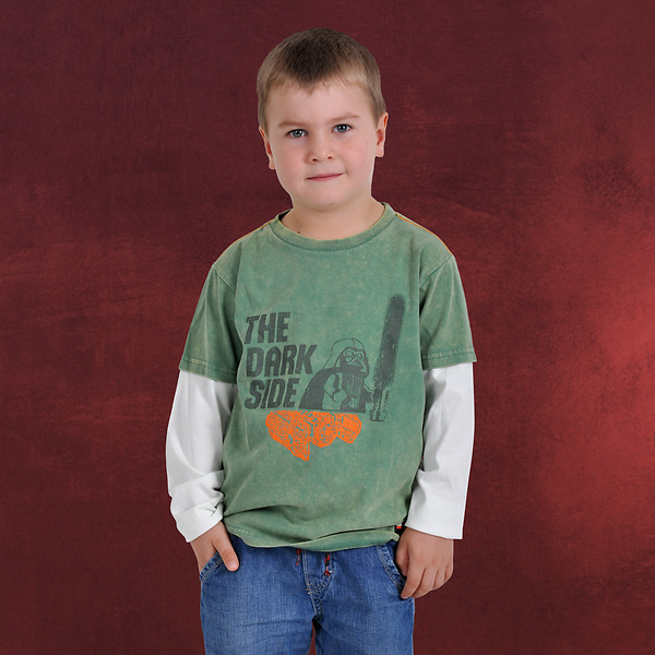 LEGO Star Wars - The Dark Side Batic T-Shirt für Kinder grün