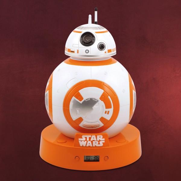 Star Wars - BB-8 Wecker mit Projektion und Sound