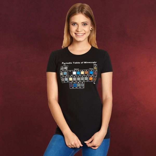 Minecraft - Periodensystem T-Shirt Damen