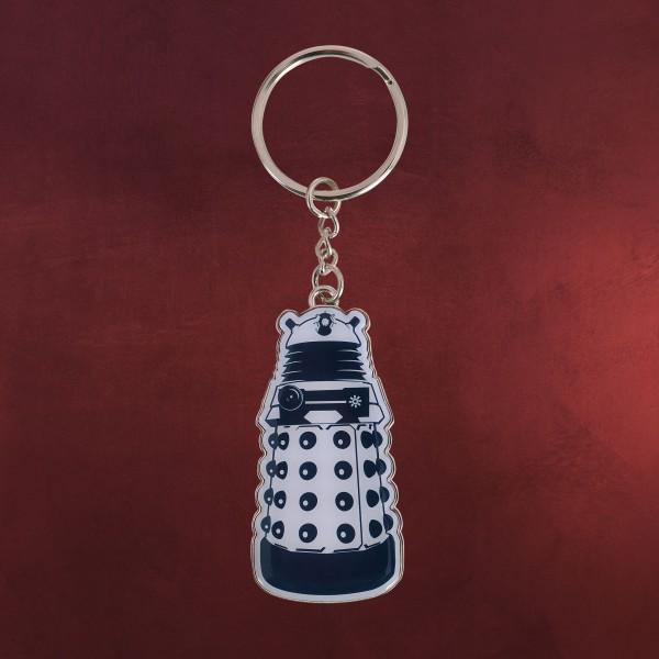Doctor Who - Dalek Schlüsselanhänger blau-weiß