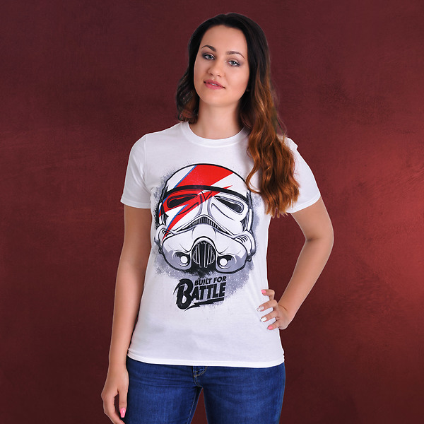Star Wars - Built for Battle T-Shirt weiß