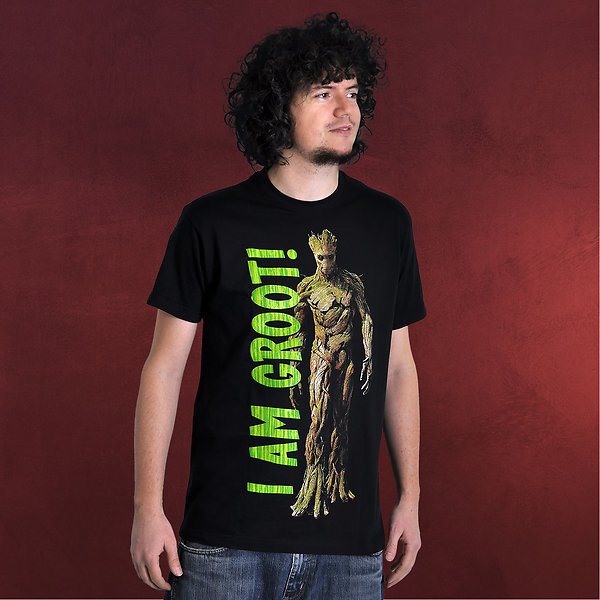 Guardians of the Galaxy - Groot T-Shirt schwarz