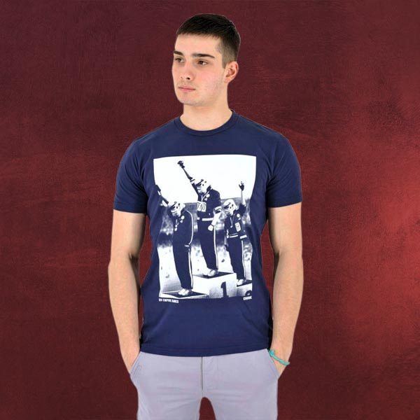 Star Wars - Stormtrooper Olympics T-Shirt, blau