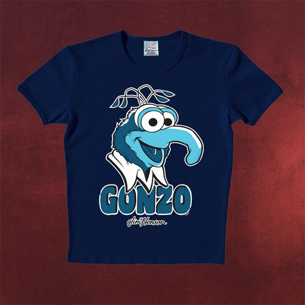 Muppets Gonzo T-Shirt navy
