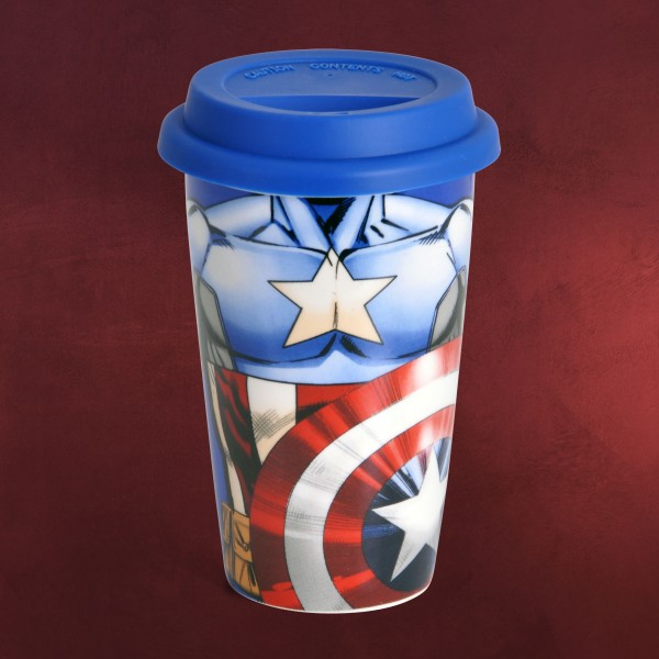 Captain America - Marvel To Go Becher