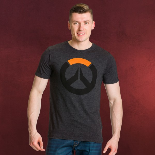 Overwatch - XL Logo T-Shirt grau