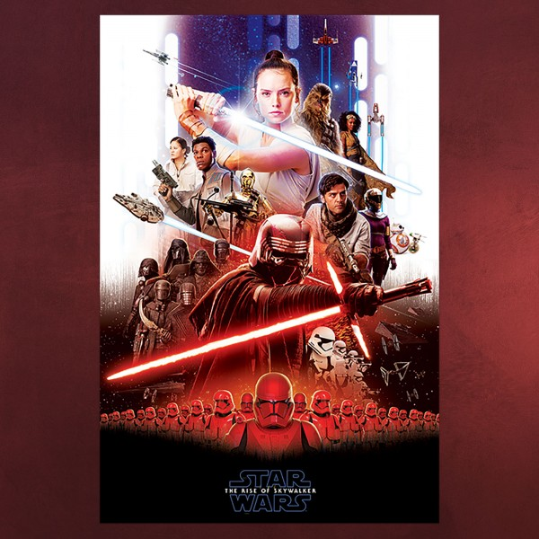 Star Wars - The Rise of Skywalker Epic Collage Maxi Poster
