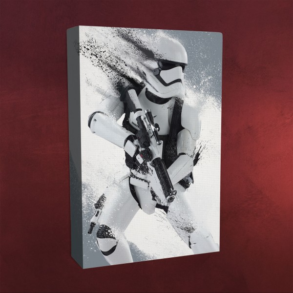 star wars stormtrooper wandbild mit licht elbenwald. Black Bedroom Furniture Sets. Home Design Ideas