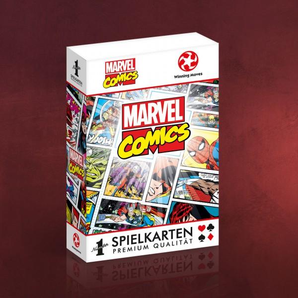 Marvel - Comic Spielkarten