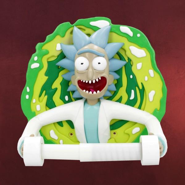 Rick and Morty - Rick mit Portal Toilettenpapierhalter