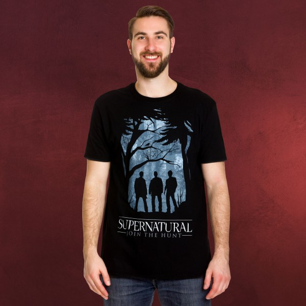 Supernatural - Demon Hunters T-Shirt schwarz