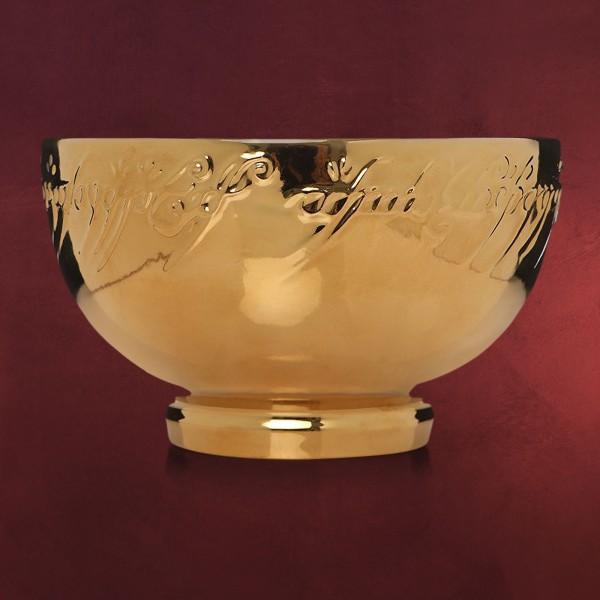 Herr der Ringe - Der Eine Ring Müslischale vergoldet