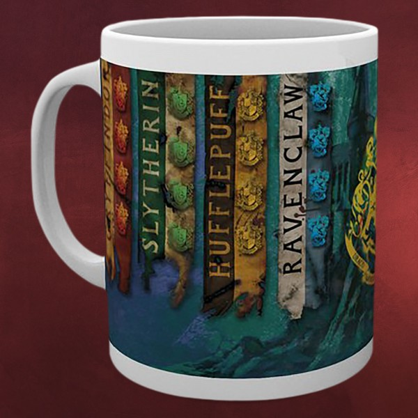 Harry Potter - Häuser Banner Tasse