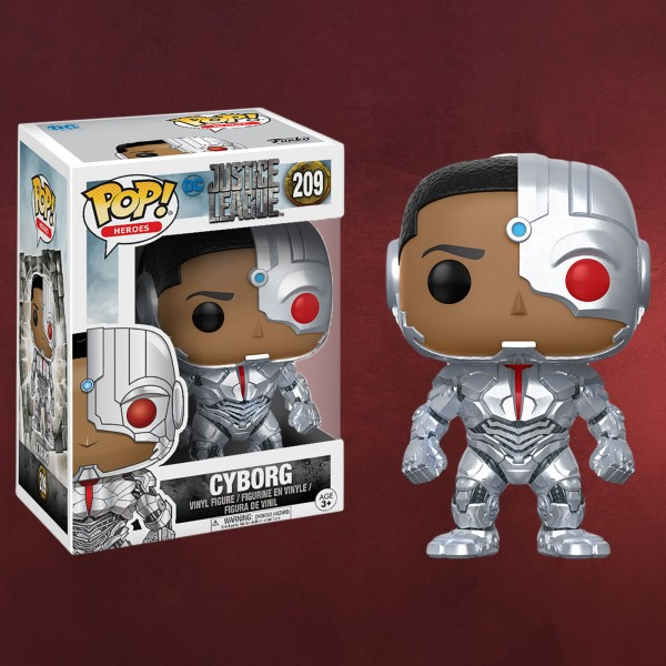 Cyborg - Justice League Funko Pop Figur