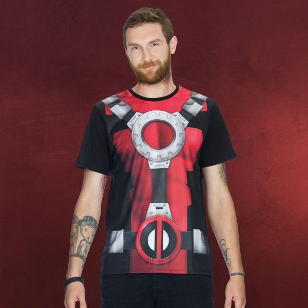 Deadpool - Amour T-Shirt schwarz