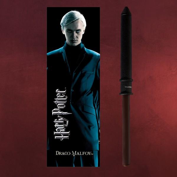 Draco Malfoy Zauberstabstift & Lesezeichen - Harry Potter
